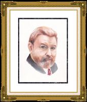 Ivan Alexandrovich Dolgorukov. Portrait Of M. Evdokimova