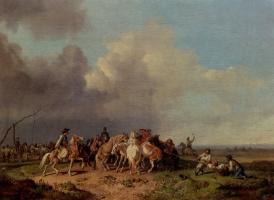 Генрих Буркел. Люди и кони