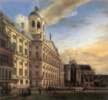 Ян ван дер Хейден. Небо над городом