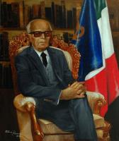 """The Portrait Of """"Alessandro Pertini"""""""