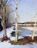 Илья Семенович Остроухов. Ранняя весна