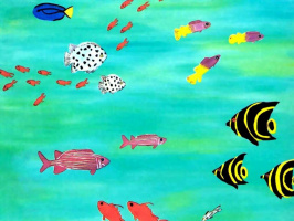 Фран Лессак. Подводный мир