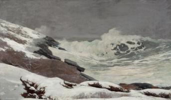 Winslow Homer. The seaside in winter
