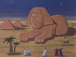 Оскар Демеджо. Пирамиды