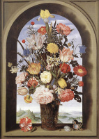 Амброзиус Босхарт Старший. Цветы