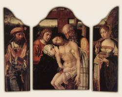 Питер Кук ван Альст. Христа снимают с креста