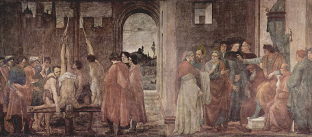 Filippino Lippi. The Martyrdom Of St. Peter