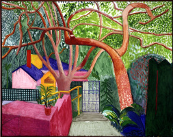 David Hockney. Gate