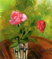 Сюзанна Валадон. Две розы в стакане