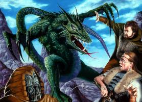 Алан Рабинович. Злой зеленый дракон