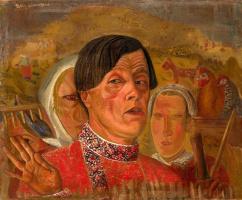 Борис Дмитриевич Григорьев. Сенокос