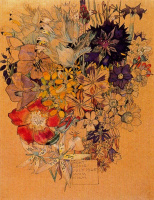 Чарльз Ренни Макинтош. Цветочный мотив 24
