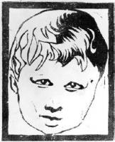 Maurits Cornelis Escher. Portrait of a child
