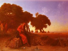 Карл Теодор Фрер. Арабский лагерь