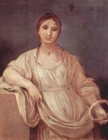 Гвидо Рени. Портрет девушки с венцом
