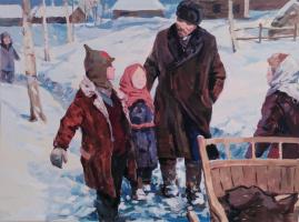 Владимир Кузьмич Ворохобин. Ленин с детьми