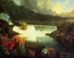Томас Коул. Ниагарский водопад