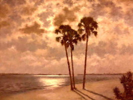 Альберт Эрнест Бэкуса. Пляж