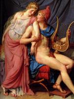Jacques-Louis David. Seduction (Paris and Helen, fragment)