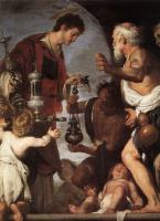 Бернардо Строцци. Благотворительность Святого Лаврентия