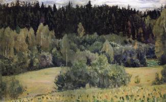 Mikhail Vasilyevich Nesterov. Landscape