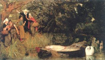 Arthur Hughes. Sorceress Shallots
