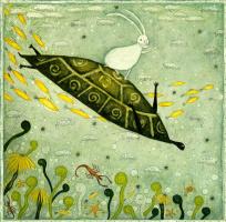 Хо Юми. Кролик на черепахе