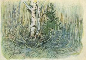 Franz Mark. Landscape