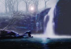 Марк Лупо. Водопад
