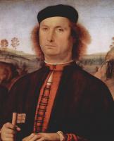 Пьетро Перуджино. Портрет Франческо делле Опере