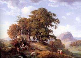 Эрнст Фердинанд Эме. Старое дерево