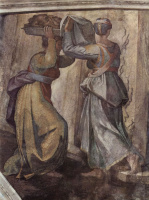 Микеланджело Буонарроти. Иудифь и Олоферн, фрагмент