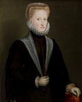 Sofonisba Angisola. Anna of Austria, Queen of Spain