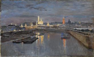 Иллюминация Московского Кремля в честь коронации Николая II, 18 мая 1896 года