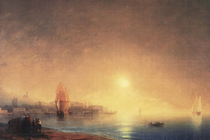 Ivan Aivazovsky. Morning on the Bay