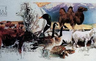 Энди Баттрам. Животные