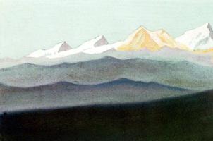 Николай Константинович Рерих. Тибет (Игра цвета)