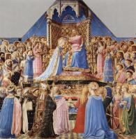 Фра Беато Анджелико. Коронование Марии со сценами из жизни св. Доминика