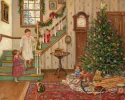 Ли  Стонцек. Рождественская елка