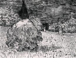 Винсент Ван Гог. Куст в парке в Арле