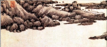 Шен Чжоу. Пейзаж 038
