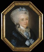 Иоганн Барду. Портрет пожилой дамы