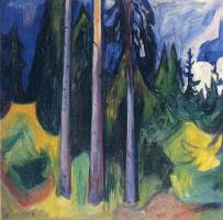 Edvard Munch. Forest
