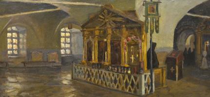 Иван Кириллович Слюсарев. Собор в Далматовском монастыре