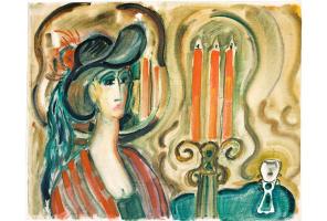 Lidia Sergeevna Polyanskaya. Three candles