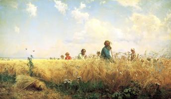 Григорий Григорьевич Мясоедов. Страдная пора