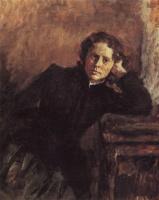 Валентин Александрович Серов. Портрет О. Ф. Трубниковой
