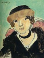 Анри Матисс. Портрет женщины в шапке