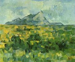 Paul Cezanne. Mount Sainte Victoire mountain (the Mount of Saint Victoria)