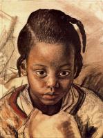 Лора Найт. Темнокожая девочка
